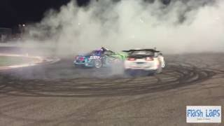 Ahmed tarek and  Sergey Kabargin at UAE drifting