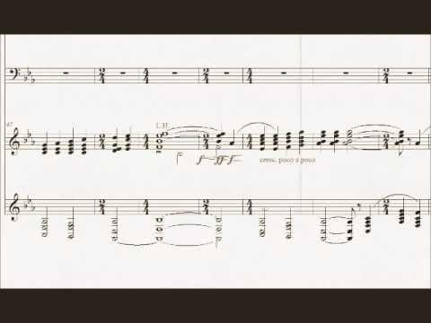 Sleep by Eric Whitacre -Piano