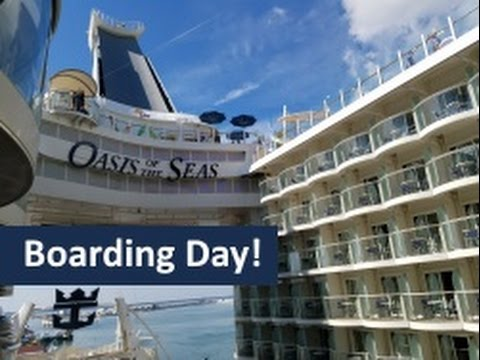 Day 1 - Cabin & Looking Around the Ship - Oasis of the Seas Cruise Vlog [ep3]