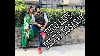 Diljit Dosanjh | Thug Life | Bhangra Video | Tra | Couple Dance | Choreography