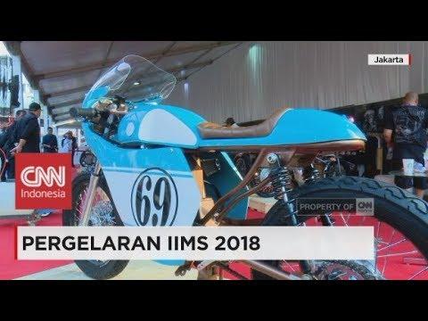 Adu Keren Motor Chopper Presiden Jokowi Vs CB 125 Gibran di IIMS 2018 Jakarta