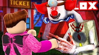 ROBLOX CAMPING 42 🤡 THE LOVE OF THE ATTRACTION PARK CATCHES US