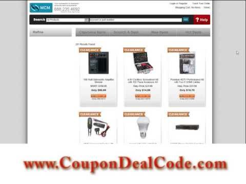 MCM Electronics Coupon Code – MCM Electronics Coupons, Shipping Codes