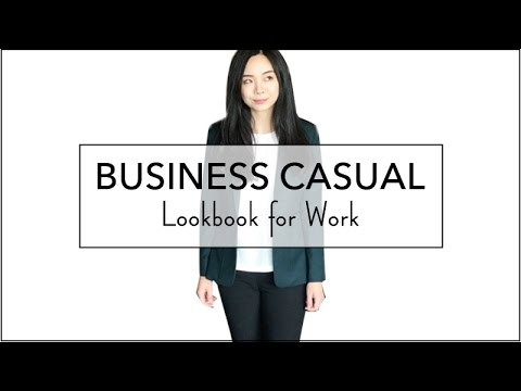 4 STYLISH BUSINESS CASUAL OUTFITS FOR WOMEN   How to dress for an office job for women