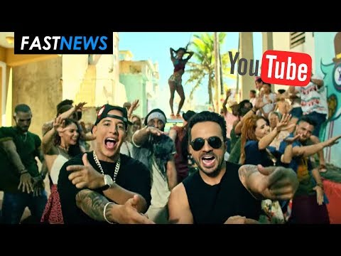 DESPACITO ROMPE RÉCORD EN YOUTUBE VÍDEO MAS VISTO EN LA HISTORIA | FASTNEWS