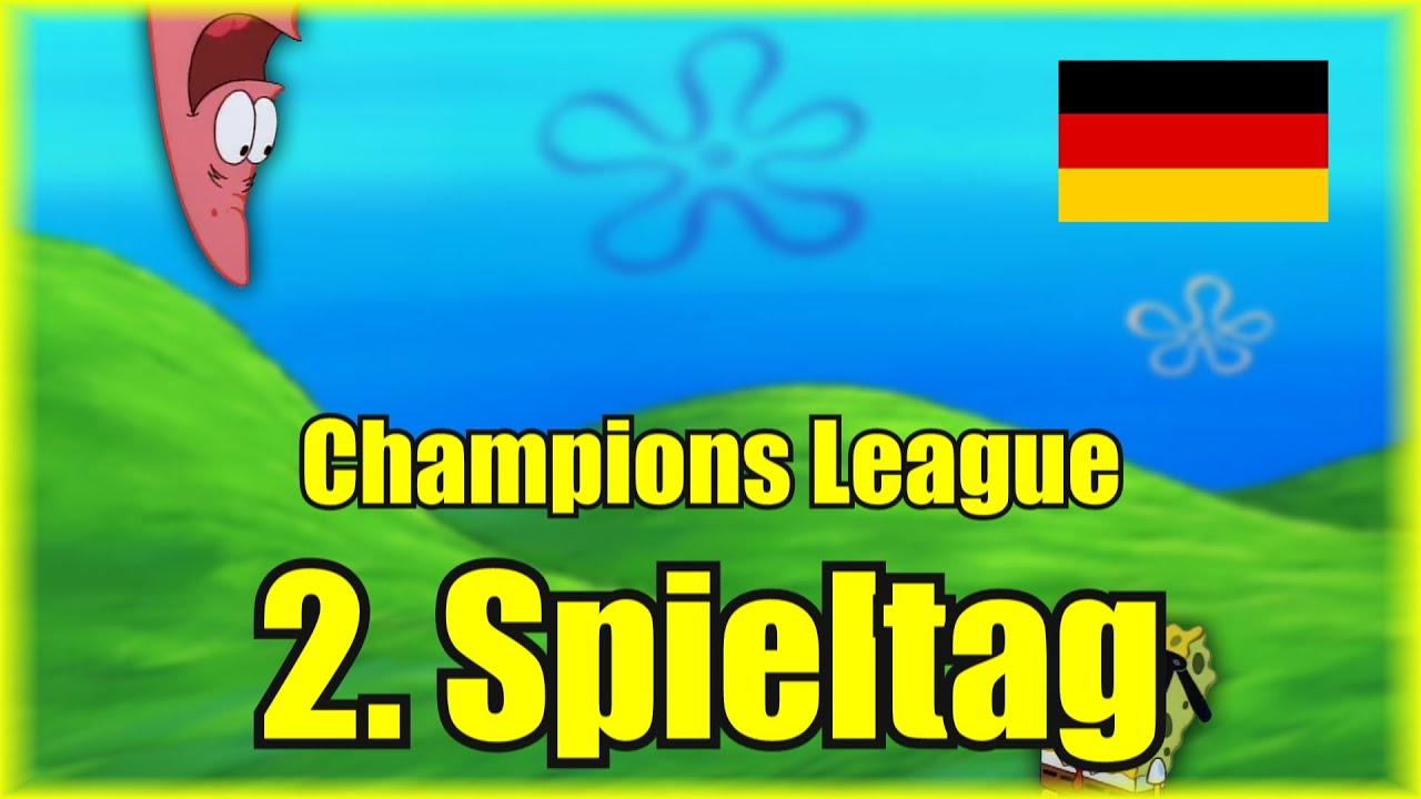 Champions League 2. Spieltag