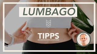 Lumbago, Hexenschuss // Ursache und Lösung bei Lumbalgie