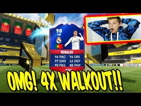 2x 90+ WALKOUT + 5x TOTT! ⛔️🔥😈 BEAST PACKLUCK PACK OPENING! - FIFA 17 ULTIMATE TEAM (DEUTSCH)