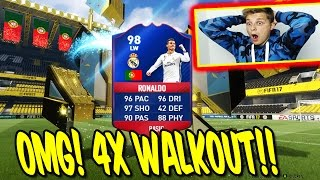 2x 90+ WALKOUT + 5x TOTT! ⛔️🔥😈 BEAST PACKLUCK PACK OPENING! - FIFA 17 ULTIMATE TEAM (DEUTSCH)