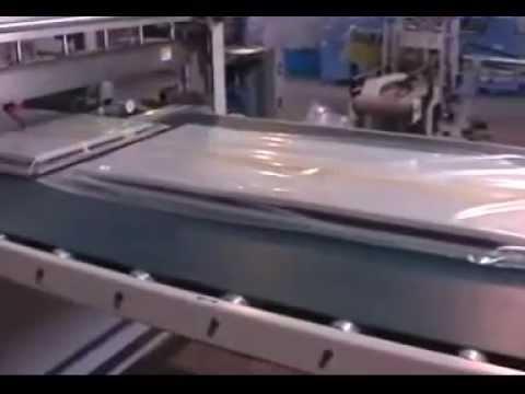 Door Shrink packaging machine/window packing machine & Door Shrink packaging machine/window packing machine - YouTube