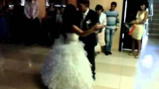 Танец жениха и невесты. Иркутск.