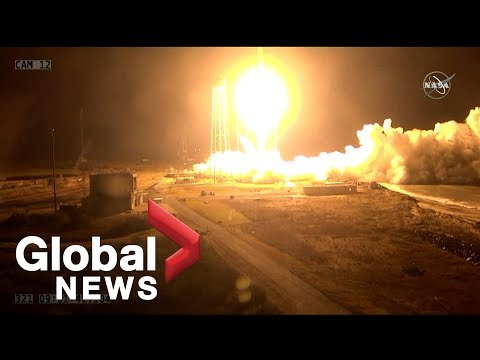 Successful launch of NASA cargo ship to International Space Station