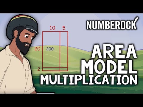 The Area Model Of Multiplication Song: Multiplication Songs For Elementary Students