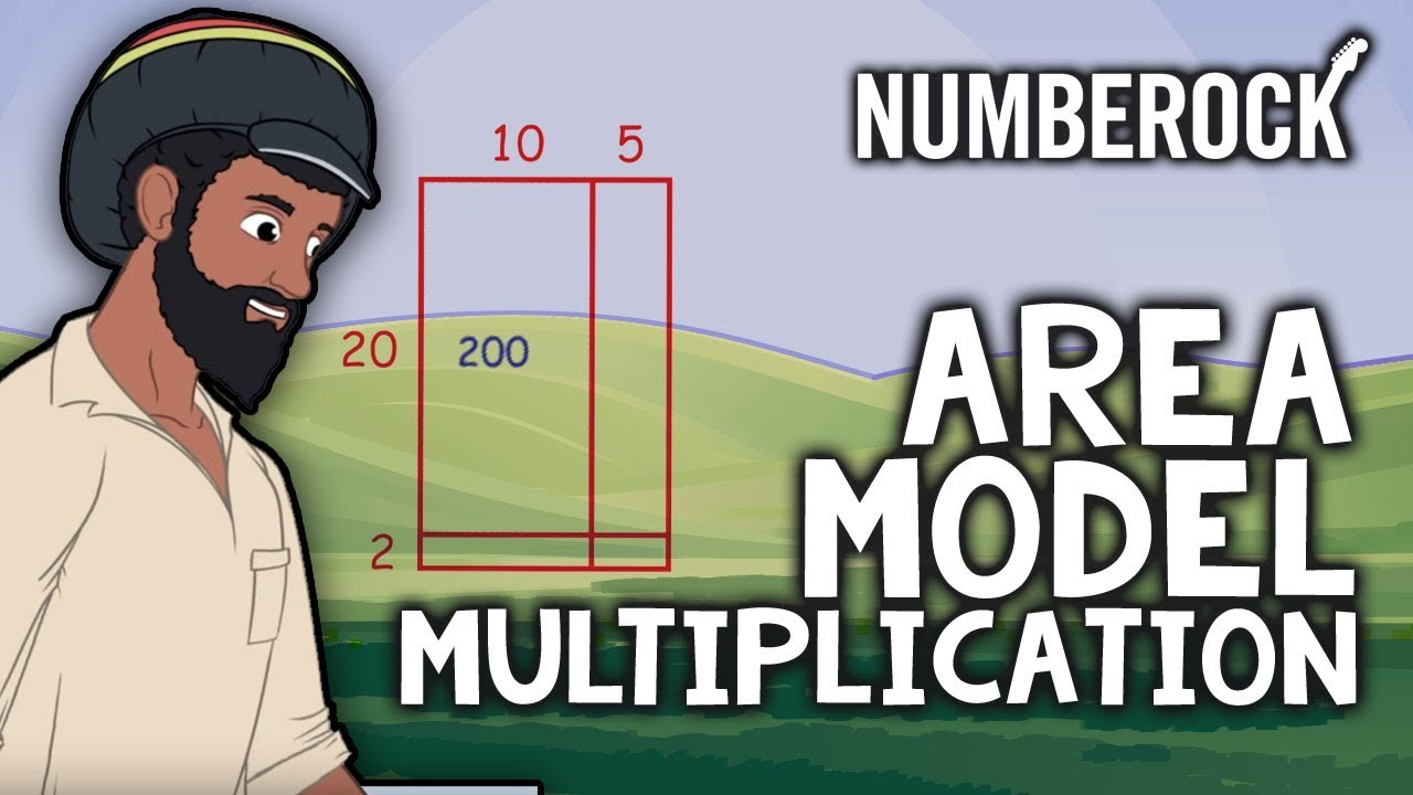 hight resolution of Area Model Multiplication Song   Multiplying with Partial Products - YouTube