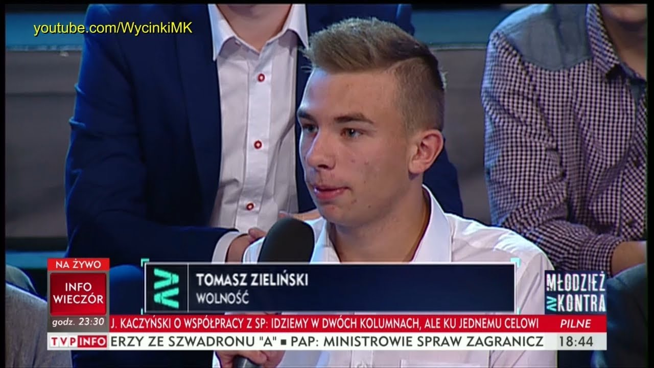 Młodzież kontra 612: Tomasz Zieliński (Wolność) vs Marek Jakubiak (Kukiz'15) 07.10.2017
