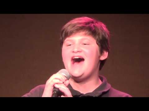 Robert Plattner Sings  'You'll Be Back' From  Hamilton