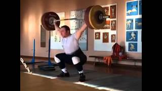 This is what called a Perfect Snatch 170 x 2 - Aleksander Ivanov