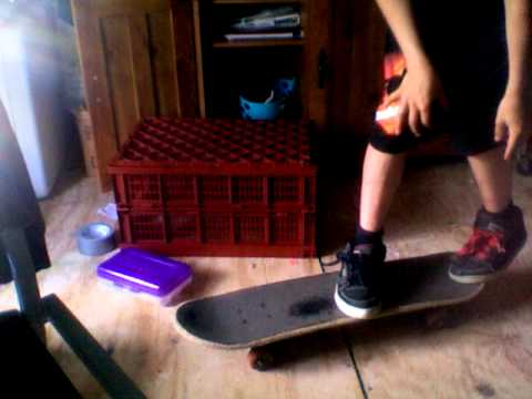 how to do a rocket air on a skateboard