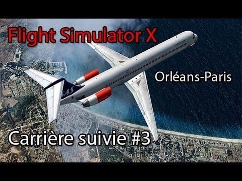 Flight Simulator X : Orléans - Paris   #3 Carrière suivies - Fs Passenger   Avro RJ 85