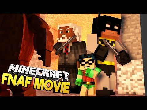 Minecraft FNAF Movie | Baby Batman and Baby Robin Five Nights at Freddys Adventure Story