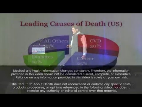 Reversing Diabetes with Diet and Life Style - Hans Diehl DrHSc, MPH, FACN