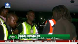 43 Nigerians Repartriated From Italy, Germany & Belgium