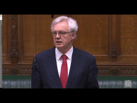 David Davis MP Asks Question On Disability Living Allowance