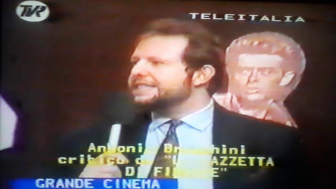 """ANTONIO BRUSCHINI INTERVISTATO A """"GRANDE CINEMA"""" TVR TELEITALIA"""