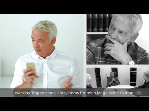 Christoph M. Ohrt trägt Widex Beyond Hoergeräte