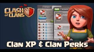 Clash of Clans - Sneak Peeks - Clan perks & XP - (dutch)
