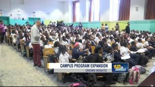 The Campus program expands to Crown Heights