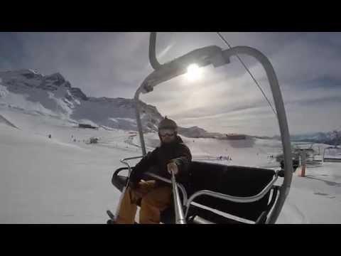 Snowboarding @ torgnon 2015