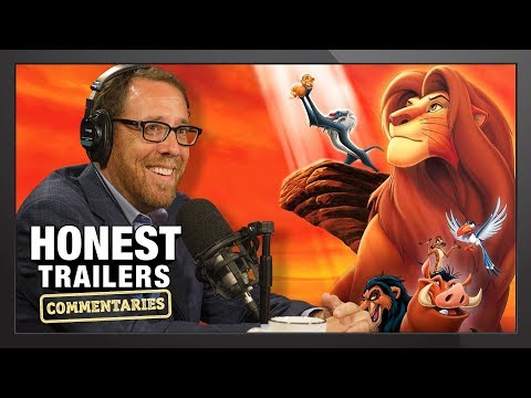 Lion King Director Reacts to Honest Trailer! – Honest Reactions w/ Rob Minkoff