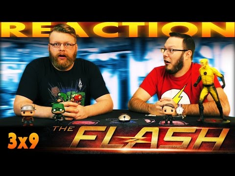 """The Flash 3x9 MID-SEASON FINALE REACTION!! """"The Present"""""""