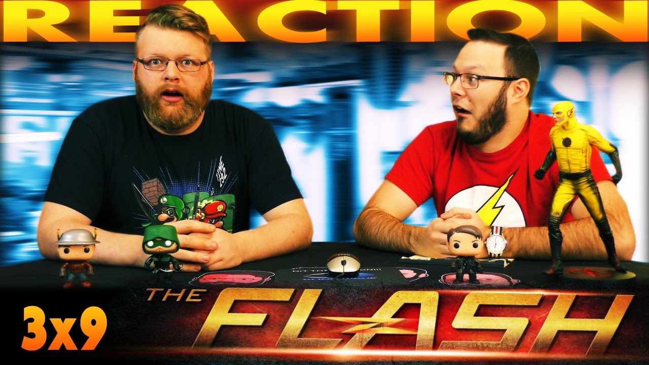 """Download The Flash 3x9 MID-SEASON FINALE REACTION!! """"The Present"""""""