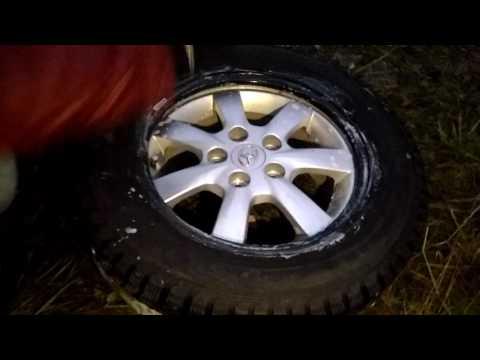 Как правильно одевать шины на диски