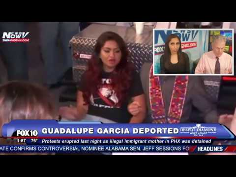 WOW: Protests Erupt as Illegal Immigrant Mother Guadalupe Garcia Deported to Mexico -  7 ARRESTED