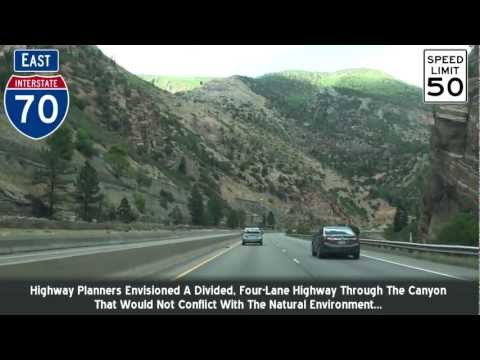 I-70  Colorado Glenwood Canyon