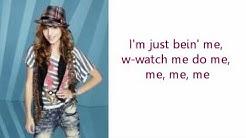 Bella Thorne and Zendaya Coleman Watch Me Lyrics