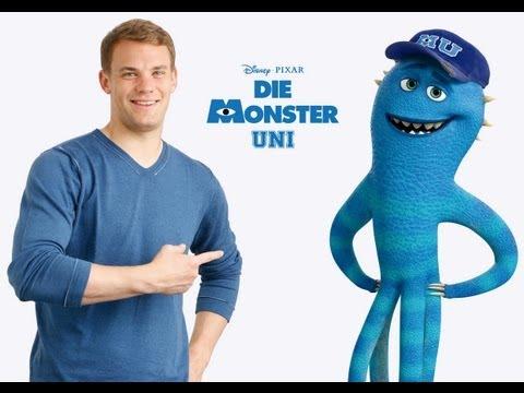 DIE MONSTER UNI - Synchronsprecher - Manuel Neuer - Disney / Pixar