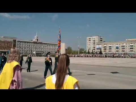 Парад Победы-2019 в Каменске Уральском