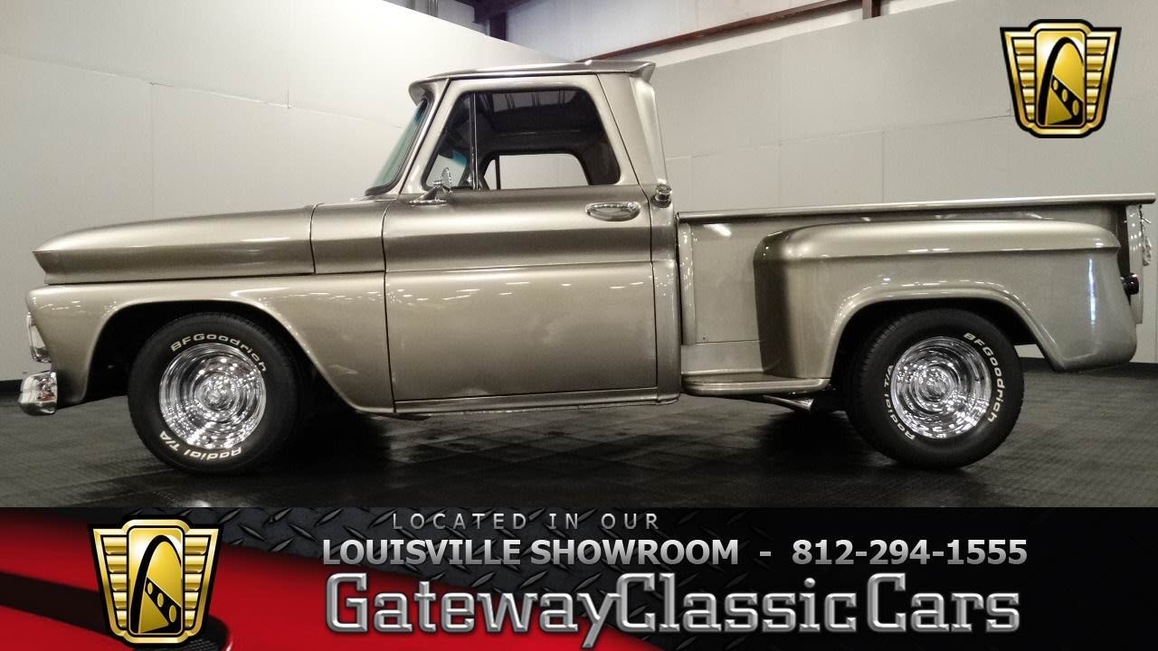 1966 Chevrolet C10 Stepside Pickup - Louisville Showroom ...