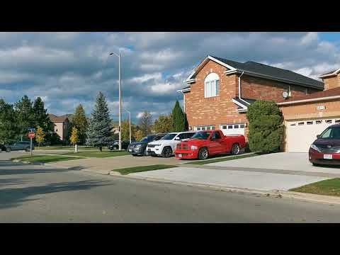 Neighborhood of Mississauga Ontario Canada