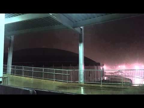 Astrodome lightning storm
