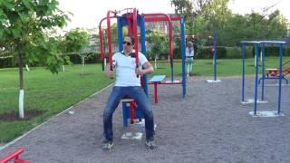 Опасный тренажёр в южанском парке, Рубежное