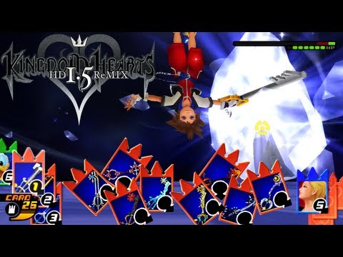How to Effectively Use Your Cards in Combat - KH Re:Chain of Memories GUIDE - KH HD 1.5 ReMIX