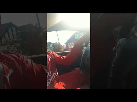 #CamdenGoldenChild @chinksey | Driving in exclusive Arsenal gear | Ferre Gola - Titanic | chinkseyTv