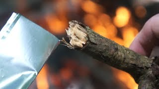 Can you Char Wood? Sticks & Branches?