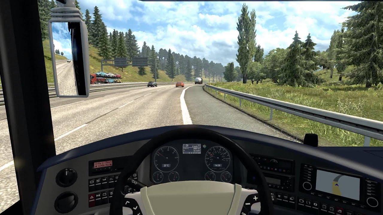 Ford Truck Hd Wallpaper Euro Truck Simulator 2 Neoplan Starliner Bus Mod Coach