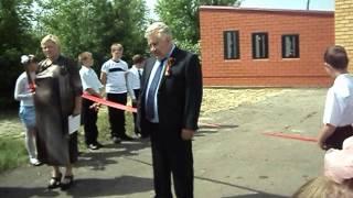 Открытие памятника павшим воинам в ВОВ